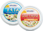 Alouette Crumbled Cheese Feta or Goat     / 4 oz Save at Least$2.00 each / <span class='coupon-offer'>$3.99</span>