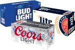 Bud Family, Miller Familyor Coors Light      / 18 Pack  / <span class='coupon-offer'>$11.99</span>