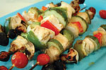 Marinated Chicken Breast Kabob with Vegetables HT - Honey Ginger Soy