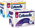 CottonelleBath Tissue Limit 4 at e-VIC Member Price     / 12 Double Roll e-VIC MemberPrice: $3.97 / <span class='coupon-offer'>$6.99</span>