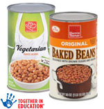 Harris TeeterBaked Beans      / 28 oz Save at Least56¢ on 4 / <span class='coupon-offer'>4/$5</span>