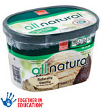 Harris TeeterAll Natural  Ice Cream Must Buy 2 to Get 3 Free     / 48 ozLimit 10 Total  / <span class='coupon-offer'></span>