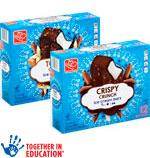 Harris TeeterIce Cream Bars      / 12 ct Item Rings atHalf Price / <span class='coupon-offer'></span>