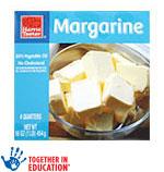 Harris TeeterMargarine Quarters      / 16 oz Save Big! / <span class='coupon-offer'>97¢</span>