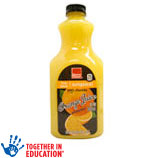 Harris TeeterOrange Juice Limit 4 at e-VIC Member Price     / 59 oz e-VIC MemberPrice: $1.97 / <span class='coupon-offer'>2/$5</span>