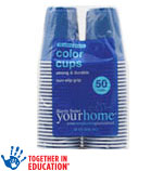 Harris Teeter yourhomePlastic Cups      / 50 ct Save at Least$1.98 on 2 / <span class='coupon-offer'>2/$6</span>