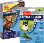 Hartz Ultra GuardDog & Cat Flea/Tick Drops      / 3 ct Save at Least$2.00 each / <span class='coupon-offer'>$7.99</span>