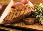 Boneless NY Strip Steak HT Rancher Beef     / Thin Sliced Save at Least$3.00 lb / <span class='coupon-offer'>$8.49</span>