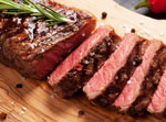 Boneless NY Strip Steakor Steakhouse Roast  HT Rancher Beef     /  Save at Least$3.00 lb / <span class='coupon-offer'>$7.99</span>
