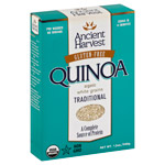 Ancient Harvest Quinoa Traditional     / 12 oz Save Big! / <span class='coupon-offer'>$6.99</span>