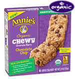 Annie's OrganicChewy Chocolate Chip      / Select Varieties Save Big! / <span class='coupon-offer'>2/$5</span>