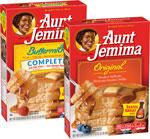 Aunt JemimaPancake Mix      / 32 oz Save Big! / <span class='coupon-offer'>2/$5</span>