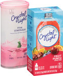 Crystal Light On The Go or Crystal Light Canister      / .0.7-2.9 oz Item Rings atHalf Price / <span class='coupon-offer'></span>