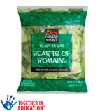 Hearts of Romaine Salad Farmers Market