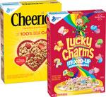 Cheerios (12 oz.) and Lucky Charms (16 oz.)      / 12, 16 oz Save Big! / <span class='coupon-offer'>2/$6</span>