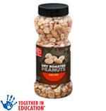 Harris TeeterPeanuts      / 16 oz Save Big! / <span class='coupon-offer'>$2.99</span>