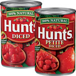 Hunt'sDiced Tomatoes      / 10-15 oz Save Big! / <span class='coupon-offer'>10/$10</span>