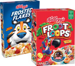 Kellogg's Frosted Flakesor Froot Loops Cereal      / 8-10 oz Item Rings atHalf Price / <span class='coupon-offer'></span>