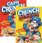 Cap'n Crunch Cereal      / 13-14 oz Item Rings atHalf Price / <span class='coupon-offer'></span>