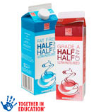 Harris TeeterHalf and Half