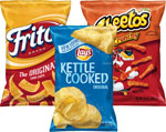 Fritos, Cheetos orLay's Kettle Chips      / 8.5-16 oz Item Rings atHalf Price / <span class='coupon-offer'></span>