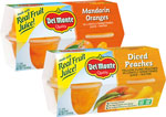 Del MonteFruit Cups      / 4 pk Save at Least$1.58 on 2 / <span class='coupon-offer'>2/$4</span>