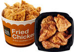 Baked or Double DippedFried Chicken Fresh Foods Market     / 8 Piece Save at Least$3.00 each / <span class='coupon-offer'>$4.99</span>