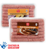 Harris TeeterBreakfast Sausage      / 12 oz Save at Least$1.98 on 2 / <span class='coupon-offer'>2/$5</span>
