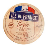 lle de France Double Creme French Brie