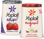 Yoplait Yogurt Limit 10 at e-VIC Member Price     / 4-6 oz e-VIC MemberPrice: 37¢ / <span class='coupon-offer'>10/$5</span>