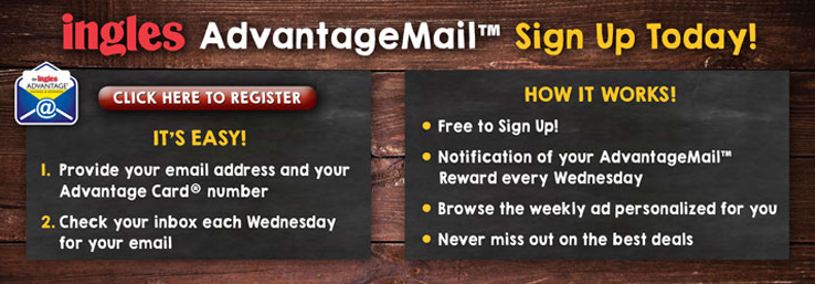 Sign Up for Ingles AdvantageMail Today!