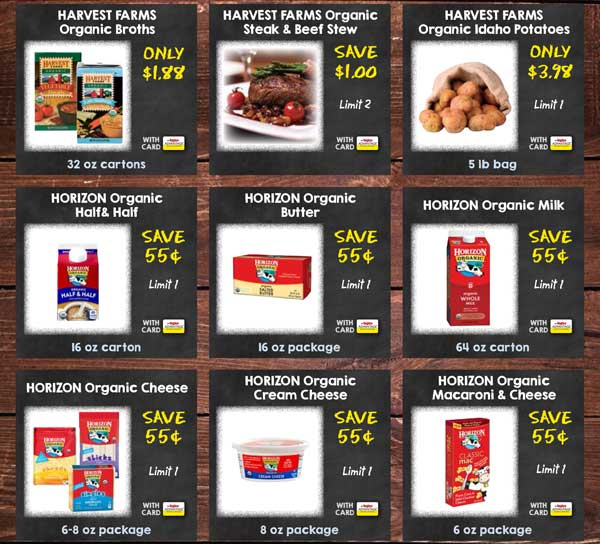 Exclusive Savings loaded to your Advantage Card!